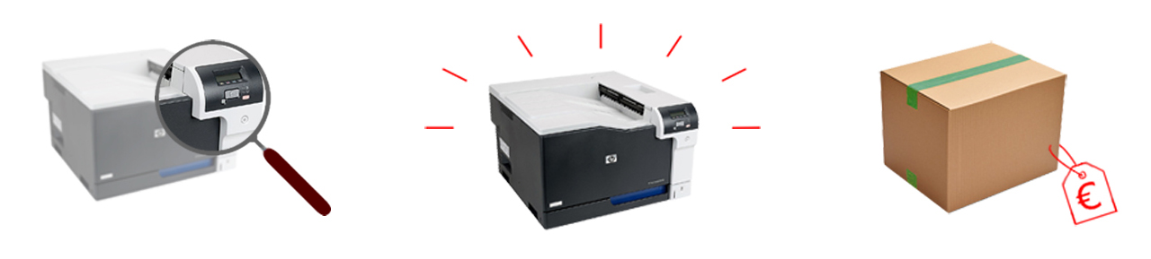 Drucker refurbished
