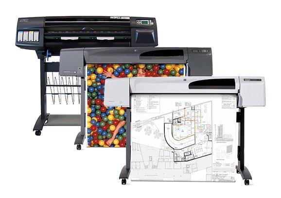 HP Designjet Plotter 36 bzw. 42 Zoll
