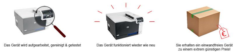 Drucker/Printware/IT - überholt nach hohen Qualitätsstandards